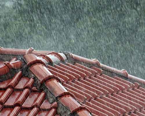 daklekkage stormschade dak reparatie
