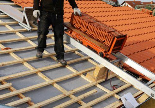 dakpannen vervangen door dakdekker